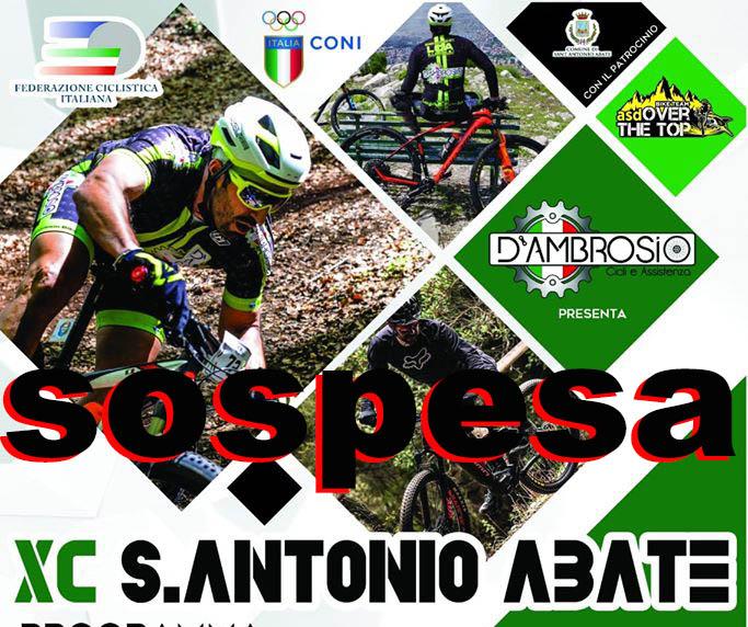 XC Sant'Antonio Abate sospesa.