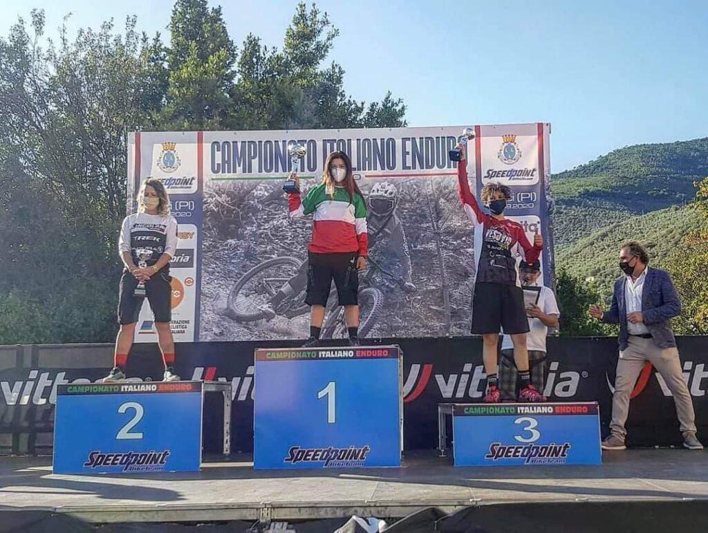 Campionati Italiani Enduro Bronzo per Giovanna Brancaccio
