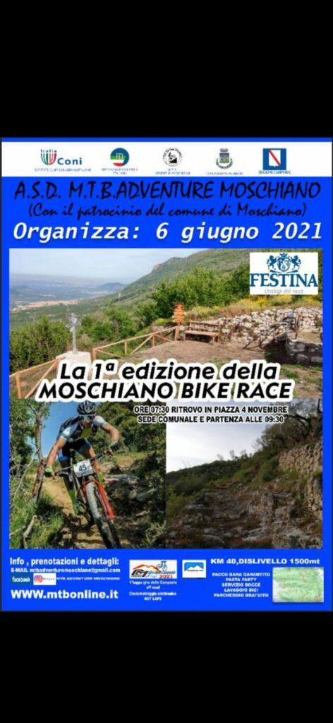"""Giro della Campania Off-road riparte dalla """"Moschiano Bike Race"""""""