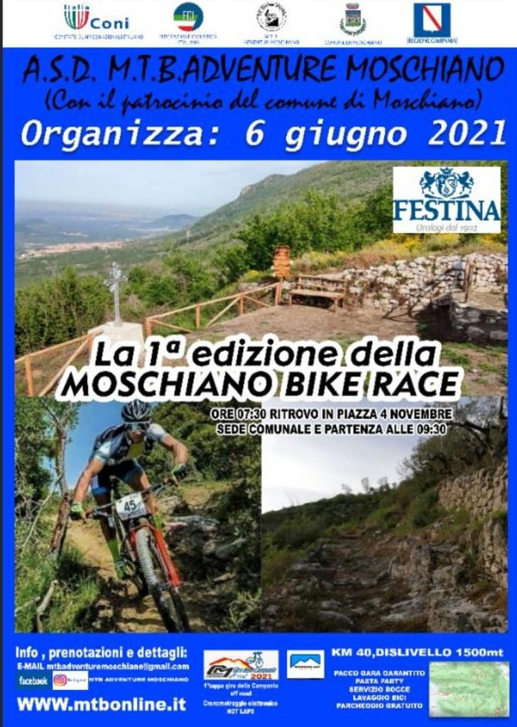 Moschiano Bike Race domenica 30 maggio prova generale