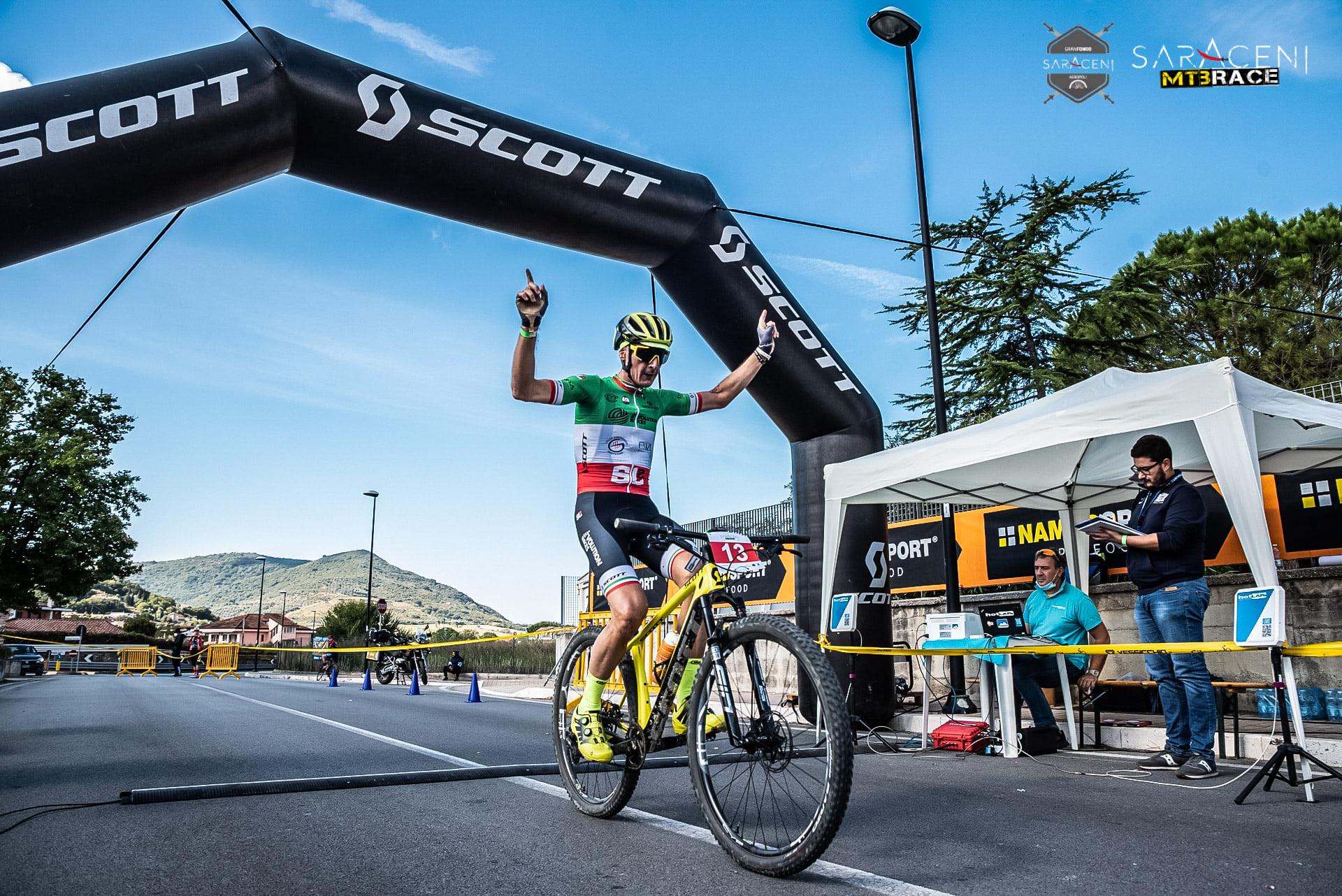 Saraceni MTB Race a segno Ferritto.