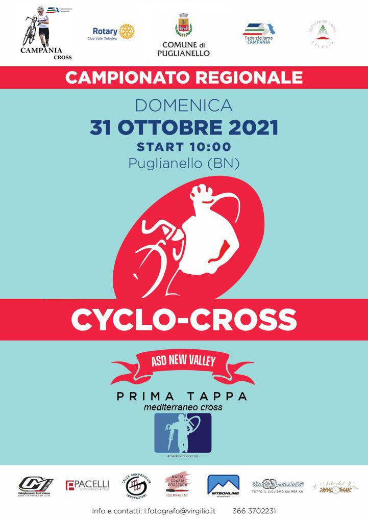 Mediteranneo Cross, il Ciclocross che conta parte da Puglianello.