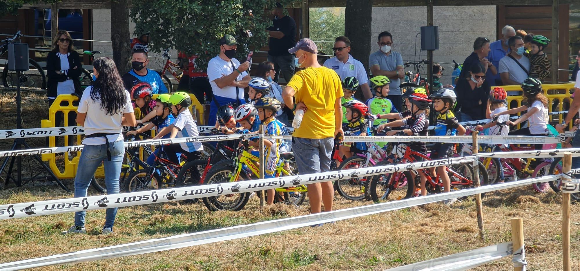 Ad Ariano Irpino festa dei Giovanissimi Bikers